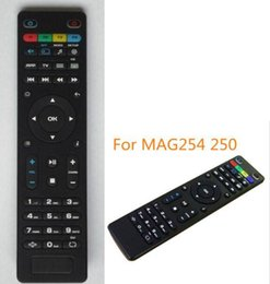 Media Player Australia - Black Color Replacement mag 250 Remote Control For mag250 254 255 256 260 270 271 linux system iptv media player