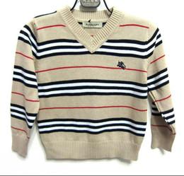 Vente en gros Populaire chandail haut de gamme chandail enfants coton garçons enfants portent tricoté à la main tricot bébé fille cardigan bébé 5 couleurs appropriées pour lui
