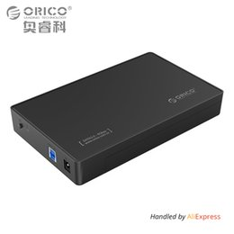 $enCountryForm.capitalKeyWord Australia - 3.5 Inch HDD Enclosure Case, USB 3.0 5Gbps to SATA Support UASP and 8TB Drives Designed for Notebook Desktop PC (ORICO 3588US3)