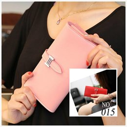 wholesale chain wallets NZ - Hot 2019 New Arrival Women Wallet Cute Ladies PU Leather Wallets Day Clutches Bags Girls Card phone Purse Holder Note Compartment Burse
