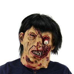 $enCountryForm.capitalKeyWord NZ - Halloween Party Supplies Decorations Scary Latex Zombie Ghosts Party Masks Mask