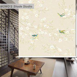 $enCountryForm.capitalKeyWord Canada - MOMO Roller Blinds Shades Blackout Floral Window Curtains Roller Shades Blinds Thermal Insulated Fabric Custom Size, Alice 466
