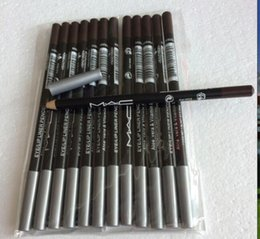 Wholesale NEW Brand Makeup eyeliner pencil black brown and mixed color