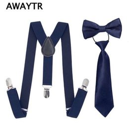 Apparel Accessories Muqgew High Elastic Elastic Butterfly Knot Kids Baby Boys Toddler Wedding Matching Braces Suspenders And Luxury Bow Tie Set Elegant Shape