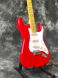 $enCountryForm.capitalKeyWord Canada - Free Shipping 2018 Custom shop,ST red electric guitar,handwork 6 Strings Maple fingerboard guitarra guitaar.Real photos guitars