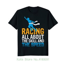 $enCountryForm.capitalKeyWord Canada - Racer , All About Skill And Speed Runner T Shirt Casual Plus Size T shirts Hip Hop Style Tops Tee S 2xl