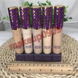 Verdadeira alta qualidade Forma Concealer Concealer Concealer 5 cores Light Light Light-medium Medium areia leve 10 ml base líquida