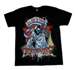 $enCountryForm.capitalKeyWord Australia - Escape The Fate Chrome Reaper T Shirt New S-M-L-Xl-2Xl T-Shirt For Men Latest Design White Short Sleeve Custom Plus Size Friday the 13TH