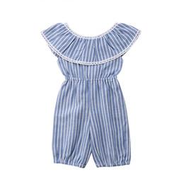 f6c5110e4 Baby Girl Blue Striped Romper Online Shopping