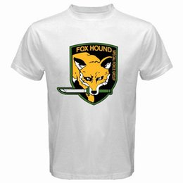 $enCountryForm.capitalKeyWord Canada - FOX HOUND FOXHOUND Special Force Metal Gear Solid Men's White T-Shirt Size S-3XL