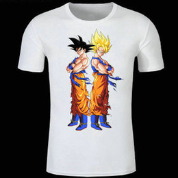 $enCountryForm.capitalKeyWord Canada - Son Goku shirt Dragon Ball anime short sleeve gown Cartoon tees Unisex clothing Quality modal Tshirt