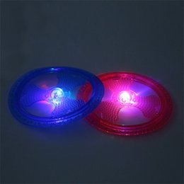Pet Plastic frisbee online shopping - Originality Dog Training Tools TPR Luminescence Pet Frisbee Resistance Bite Dog Supplies Flying Disk Shape hz X
