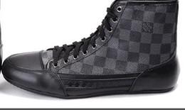 c7c6370afd82f Kanye west high heels online shopping - spring autum high top superstar  shoes men luxury brand