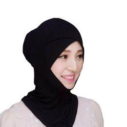 7f0f81bd1fd09 Inner cap hIjab online shopping - Muslim Headscarf Inner Hat Bonnet Cap  Underscarf Hijab Scarf Cover