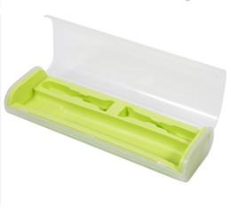Wholesale Travel Portable Toothbrush Bag Portable Toothbrush Packaging Box Brush Case Protector Oral Care Tool Tootbrush Storage Yellow