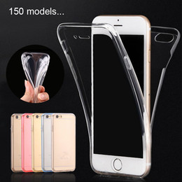 $enCountryForm.capitalKeyWord NZ - For iPhone X Case Ultra Thin 360 Degree Clear Cases Soft TPU Rubber Gel 2 in 1 Front and Back Cover Full body