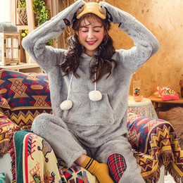 $enCountryForm.capitalKeyWord NZ - Pajamas Winter Ladies Pajamas Night Clothes Sleep Women Night Suits Ladies Sleeping Clothes Women 1577