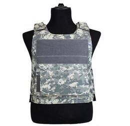 tactical paintball equipment 2020 - Tactical Camo Vest Men Camouflage Waistcoat SWAT Train Combat Paintball CS Game Equipment Protective Vest
