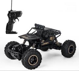 Control remoto de cuatro ruedas modelo de juguete de control remoto 1:16 niños de control remoto coche de escalada