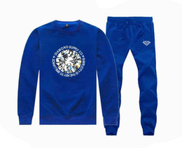 China M770255 Hot-sale LK Sweatshirts +PANTS suit for Men and Women Fleece Lined Hip Hop Skateboard Crewneck Tracksuits S-5XL supplier white gold suits for men suppliers