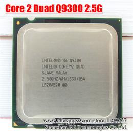 775 C. P. U. сердечника Intel 2 четырехъядерный процессор Q9300 2.5 ГГц 6МБ кэш ФСБ 1333 настольных отставать 775 процессор