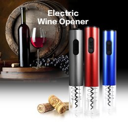 $enCountryForm.capitalKeyWord Canada - 2018 Multifunction Automatic Wine Bottle Opener Kit Automatic Corkscrew Electric Wine Opener Cordless With Foil Cutter And Vacuum Stopper