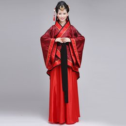Chinese  2017 traditional costume Hanfu ethnic and original chinese ancient cosplay clothing for women manufacturers