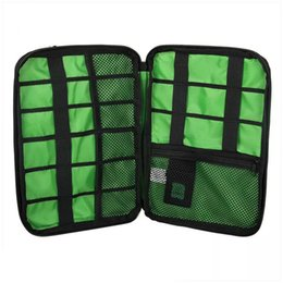 Hdd poucH online shopping - Waterproof Electronic Accessories Storage Bag Carry Protection Pouch Organiser for Headphone Cable U Disk HDD SD Card