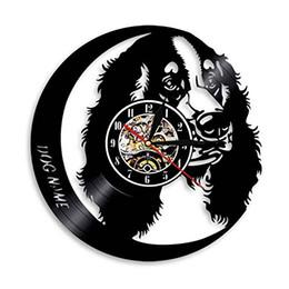 a4aef34ac03 diy gift for clock Labrador Dog Vinyl Record Wall Clock Modern Design Pet  Puppy Animal Home Decor Wall Watch For Dog Gift