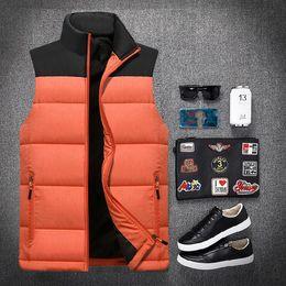 $enCountryForm.capitalKeyWord Canada - 2018 Vest Men's Autumn And Winter Warm Down Cotton Clothes Vest Men's Korean Version Of The Tide Handsome Fashion L-4XL.