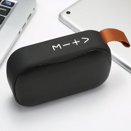 Dock Speakers Australia - New Bluetooth Speaker Portable Card Subwoofer Mobile Outdoor Sports Mini Creative Bluetooth Small Speaker