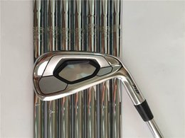 Großhandel Nagelneu AP3 718 Eisen Set AP3 718 Golf Schmiedeeisen Golfschläger 3-9 P R / S Flex Stahlschaft Mit Kopfbedeckung