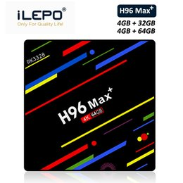 $enCountryForm.capitalKeyWord NZ - H96 MAX Plus Android 8.1 TV Box RAM 4GB ROM 32GB 64GB RK3328 Smart Steaming Media Player 2.4G 5G Wifi Bluetooth