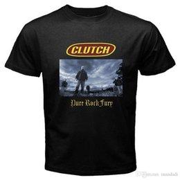 Großhandel New CLUTCH Pure Rock Fury Rock Band Logo Herren Schwarzes T-Shirt Größe S bis 3XL