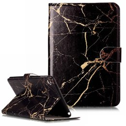 China Wallet Leather UK - Marble Flower Wallet Leather Case for ipad mini 8 6 mini4 mini1 2 3 iPad2 3 4 for Universal 7 8 inch