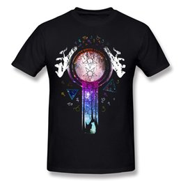 $enCountryForm.capitalKeyWord UK - Cheap Hombre 100% Cotton Colourfull magic hands on crystal ball wizard and witch art Tee-Shirts Hombre O-Neck Dark Green Short Sleeve Tees S