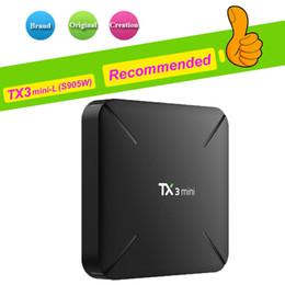Hot Box Internet Australia - 1 PCS Hot TX3 Mini X96 MINI MXQ PRO T95 S1 1GB 8GB Best Internet TV Box Amlogic S905W Android 7.1 TV Box support 4K H.265 1080P IPTV BOX