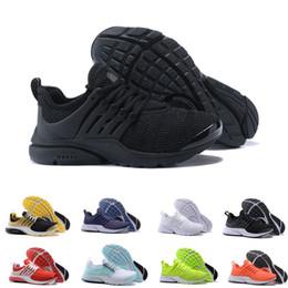 2018 TOP PRESTO 5 BR QS Breathe Мужская обувь Кроссовки Черный Белый Желтый Красный Женщины Кроссовки Горячие Мужчины Спортивная Обувь Прогулки дизайнер обувь на Распродаже