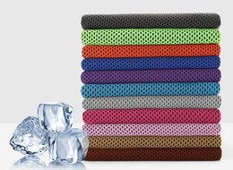 China handkerchiefs Top quality Cooling Towel Camping Hiking Gym Exercise Workout Towel Ice Fabric Soft Breathable Cool Sports Towel cheap cool hairs suppliers