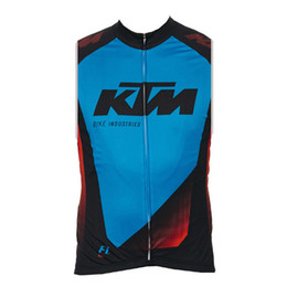 Bicycle Black UK - KTM team men Cycling Sleeveless jersey Vest summer Breathable Quick Dry bike racing shirts Bicycle equipment ropa ciclismo F60316