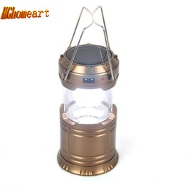 $enCountryForm.capitalKeyWord Canada - Super Bright 6 LED Camping Lantern Solar Accumulator power bank Outdoor Portable Lights Water Resistant Camping Lighting Lamp