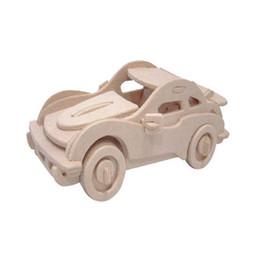 Имитационная модель 3D собраны деревянные головоломки DIY для студентов детские развивающие игрушки животных 3D деревянные головоломки игрушки-Porsche автомобиль