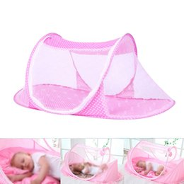 Baby Bedding Mosquito Net Australia - Portable Baby Crib Mosquito Net Tent Multi-Function Cradle Bed Infant Foldable Mosquito Netting