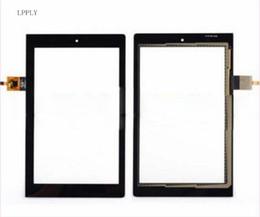 lenovo yoga screen 2019 - LPPLY Black New For Lenovo YOGA TAB 3 8.0 YT3-850 YT3-850F YT3-850L YT3-850M Touch Screen Digitizer Sensor Replacement P