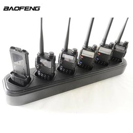 $enCountryForm.capitalKeyWord Canada - BAOFENG UV-5R Walkie Talkie Six-way Battery Charger Single-row Outdoor Activity Equipment Wireless Intercom Button interphone