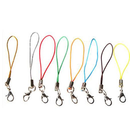 Multi Color Hand Bag Australia - 100Pcs Cell Phone Lanyard Cord Phone Straps Squishy Toy Strap Mobile Hand for Key Bag USB Flash Disk Mp3 Mp4 Multi Color
