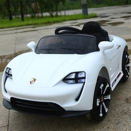 Çocuk elektrikli otomobil araçlar, büyük boy, çift, dört tekerlekten çekişli uzaktan kumandalı araba alabilir