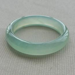 $enCountryForm.capitalKeyWord Australia - Ice kinds of natural light green jade bracelet for women authentic color jadeite quartzite jade exquisite fashion bracelets
