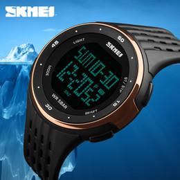 Men Digital Wrist Watches Canada - Top Brand Luxury Male Watch Digital Sports Men Watches Waterproof LED  Watch Electronics Wrist Outdoor Man Clocks
