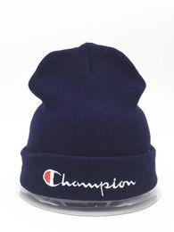 $enCountryForm.capitalKeyWord Australia - 2018 HOT Knitted Hat Designer Champion Winter Warm Thick Beanie Fedora gorro Bonnet Skull Hats for Men women Crochet Skiing Cap hat